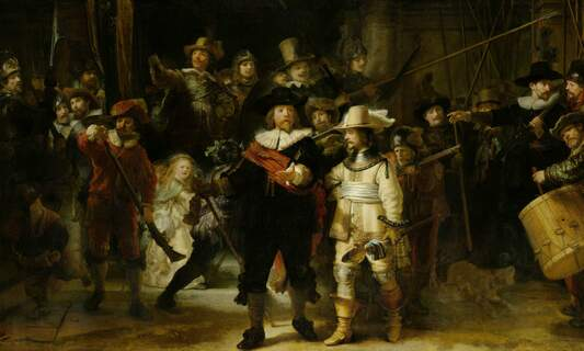 Rembrandt's famous Night Watch to be restored at the Rijksmuseum