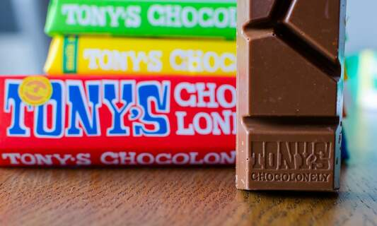 Famous Amsterdam chocolate brand Tony's Chocolonely opens its own bar