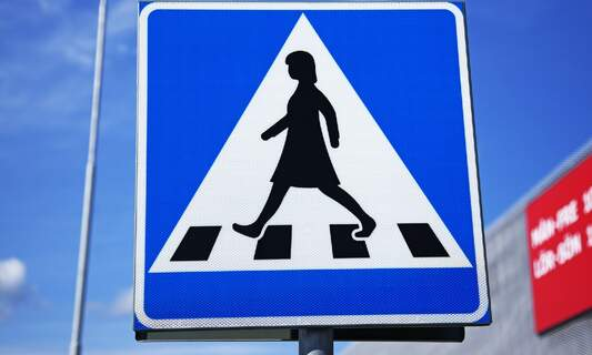 No female figures on traffic signs in the Netherlands