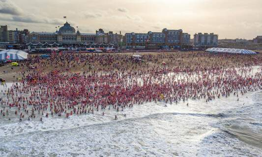 Diving into the past of the Dutch New Year's Dive