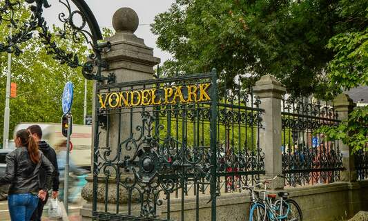 Amsterdam limits access to Vondelpark to control crowds and prevent parties