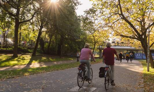 Amsterdam ranked one of the greenest cities for fitness fanatics