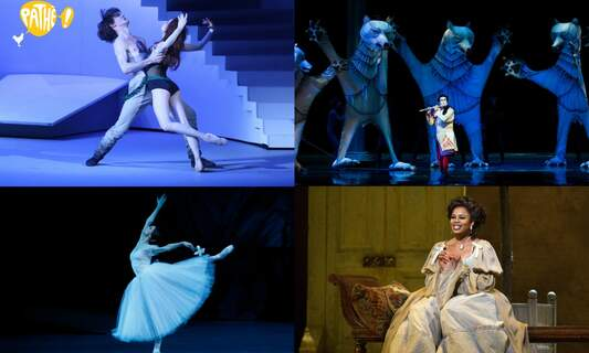 Win four double tickets to a Pathé Specials opera or ballet of your choice