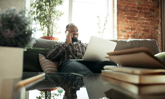 Three-quarters of home workers don't expect to return to the office