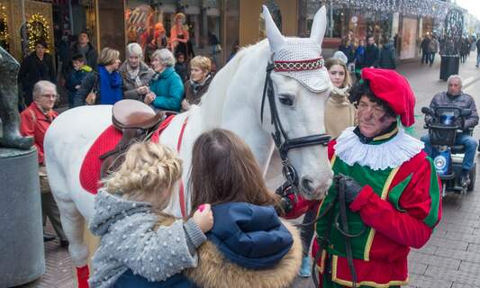 Only sooty Piets present at national Sinterklaas arrival event