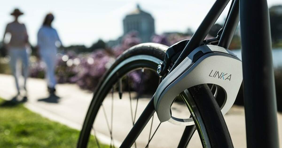 The Linka Lock High Tech Security For Your Bike
