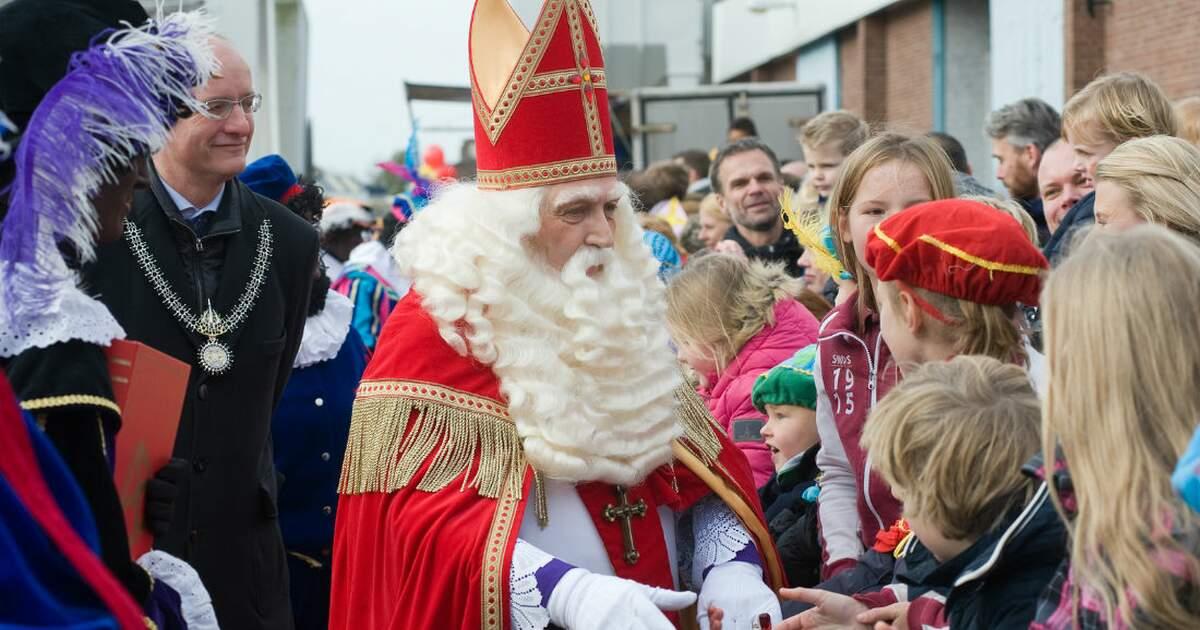 Sinterklaas Arrives In The Netherlands