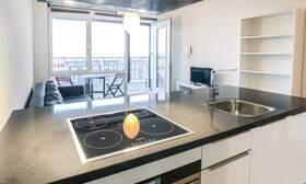 €1.350 / 50m2 - Furnished Open Plan Apartment Available Now (Amsterdam Houthavens) - Upload photos 5
