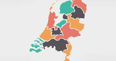 Map of the Netherlands & Other Dutch maps